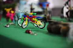 Bike of toy Stock Photo