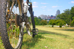 Bike trail Royalty Free Stock Photography