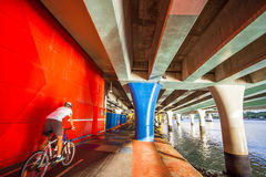 Bike trail in Brisbane. Australia Stock Photography