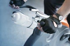 Bike training Royalty Free Stock Image