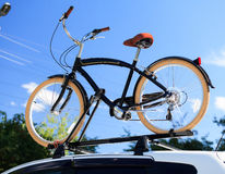 Bike transportation Royalty Free Stock Photo