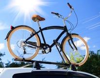 Bike transportation Royalty Free Stock Images