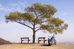 Bike travel stock photography