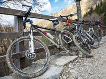 Bike trekking Royalty Free Stock Images