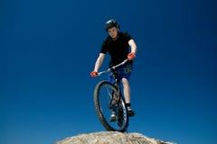 The bike trick Royalty Free Stock Photos