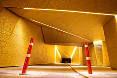 Bike Tunnel At Night Royalty Free Stock Images
