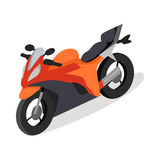 Bike Vector Icon in Isometric Projection Stock Images