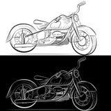 Bike vector Royalty Free Stock Photography