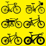 Bike vector set Royalty Free Stock Images