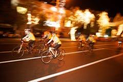 """""""Bike voor het cirkelen van Dad† Thailand's viering voor Zijn Majesteit de Koning Royalty-vrije Stock Foto"""