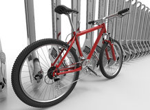 Bike waiting for maintenance Royalty Free Stock Photo