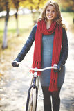 Bike walk Royalty Free Stock Photography