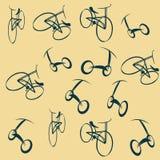 Bike wallpaper Stock Images