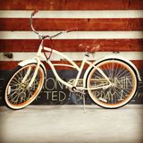 Bike in warehouse Stock Images