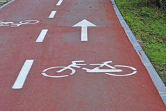 Bike way Royalty Free Stock Photography