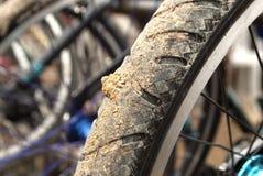 Bike whee Stock Photo