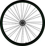 Bike wheel Stock Photo