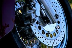 Bike Wheel Stock Photos