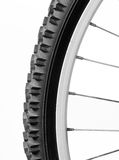 Bike wheel Stock Image