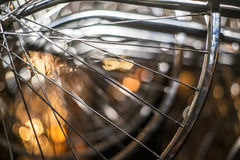 Bike Wheel Royalty Free Stock Photography