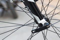 Bike wheel detail Stock Photos