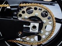 Bike wheel. Part of big bike  wheel Stock Photography