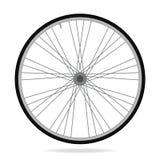 Bike wheel - vector illustration on white background Stock Photography