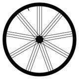Bike wheel - vector illustration on white background Stock Photos
