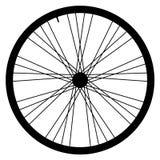 Bike wheel - vector illustration on white background. Image of Bike wheel - vector illustration on white background Stock Photos