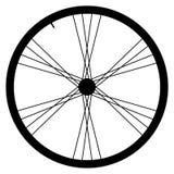 Bike wheel - vector illustration on white background Royalty Free Stock Image
