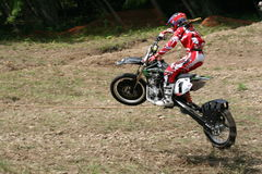 Bike Wheelie Racer Stock Image