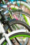 Bike wheels Stock Photo