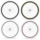 Bike wheels Royalty Free Stock Photos