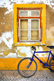 Bike Window Royalty Free Stock Image