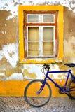 Bike Window Royalty Free Stock Image