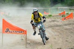 bikecrosskonkurrensextreme Arkivbilder