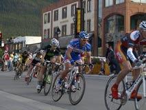 bikefest Banff park narodowy Zdjęcia Royalty Free