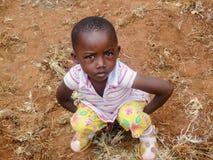 Bikeke, Kenya. Unidentified boy at Bikeke in Kenya. Bikeke is a village in Kitale district in Western Kenya stock photos