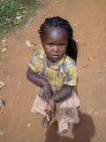 Bikeke, Kenya. Unidentified girl at Bikeke in Kenya. Bikeke is a village in Kitale district in Western Kenya royalty free stock images