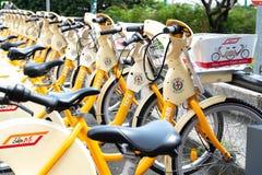 BikeMi Bike sharing bicycles