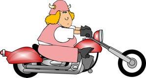 Biker stock illustration