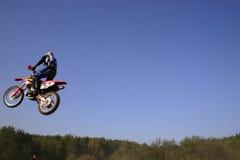 Biker. Motor bike Royalty Free Stock Photo