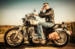 Free Biker Royalty Free Stock Photos - 27757798