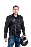 biker Fotografia Stock Libera da Diritti