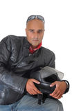 Biker Royalty Free Stock Image