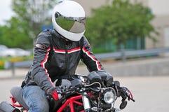 Biker Royalty Free Stock Photo