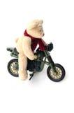 Biker bear Royalty Free Stock Photo