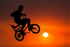 Free Biker, Biker, Bicycle, Sunrise, Sunset, Riding, Rider Stock Image - 174945611