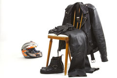 Biker Dress Stock Photo