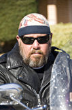 Biker dude Stock Photos